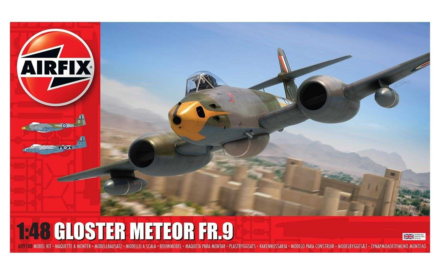 1:48 Gloster Meteor FR.9