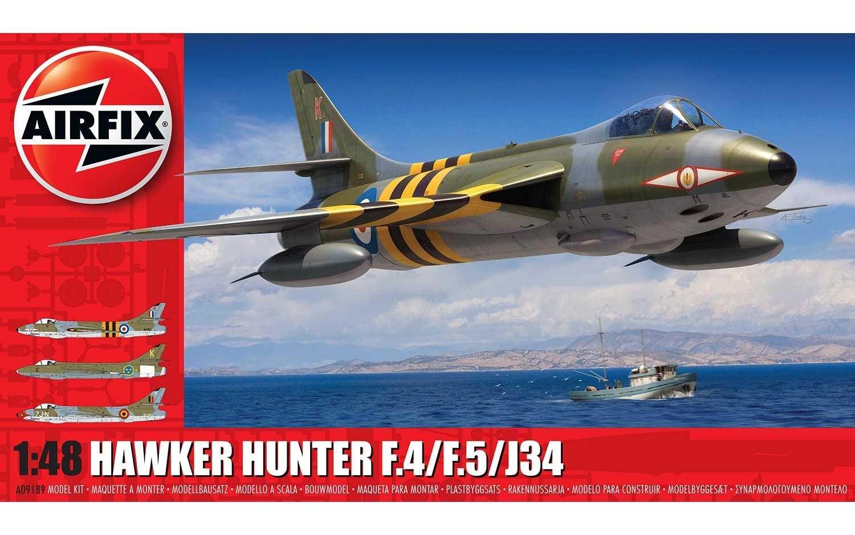 1:48 Hawker Hunter F.4/F.5/J34