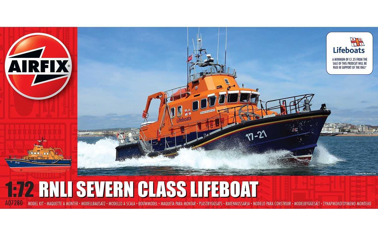 1:72 RNLI Severn Class Lifeboat