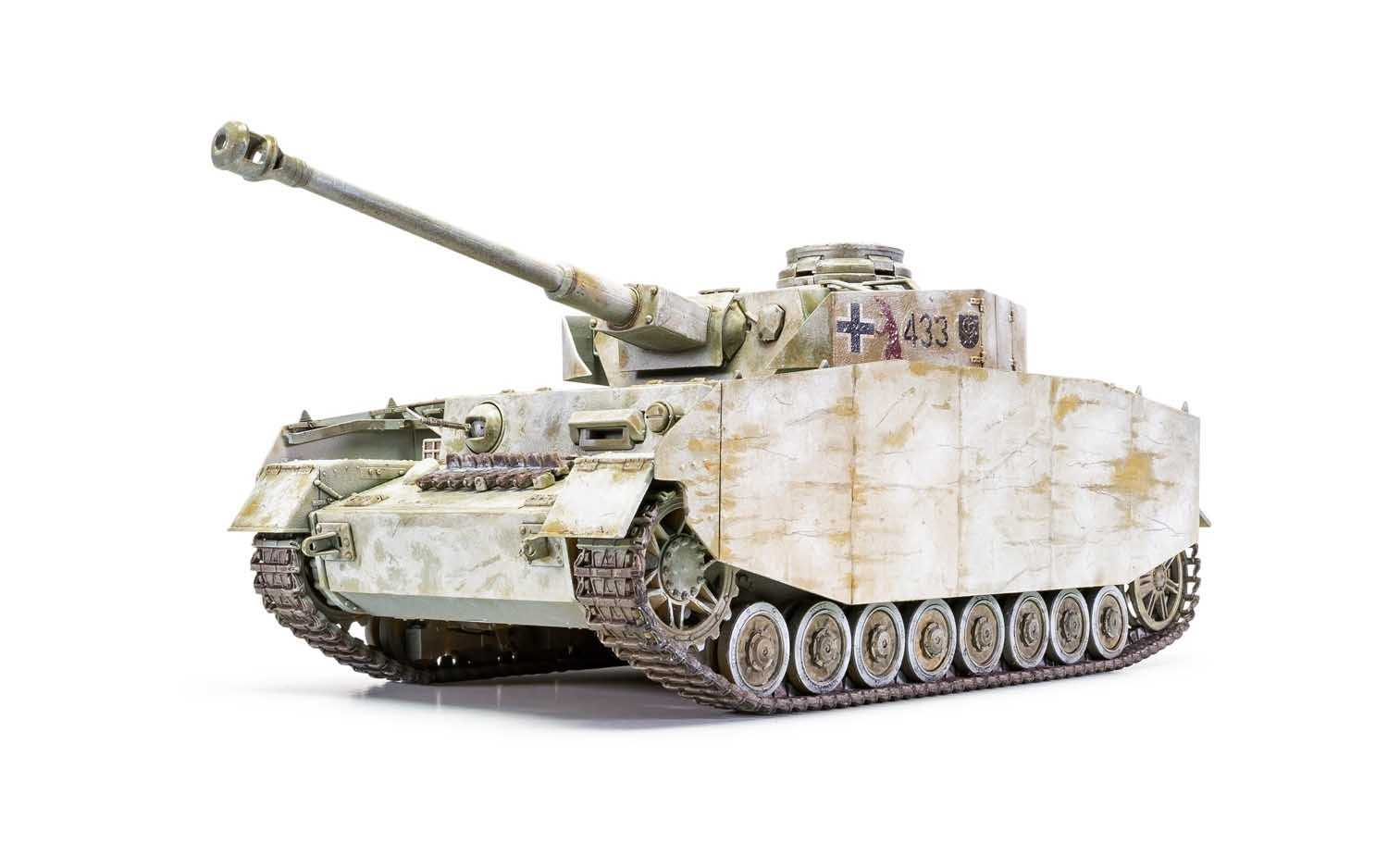 1:35 Panzer IV Ausf.H (Mid Version)