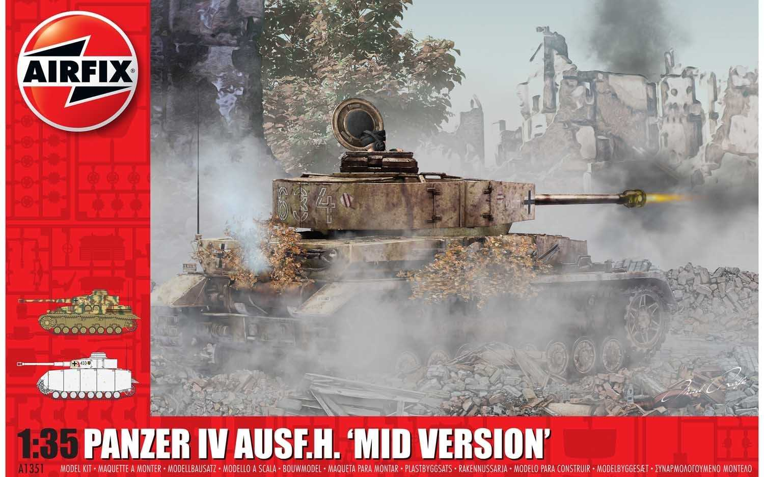 View Product - 1:35 Panzer IV Ausf.H (Mid Version)