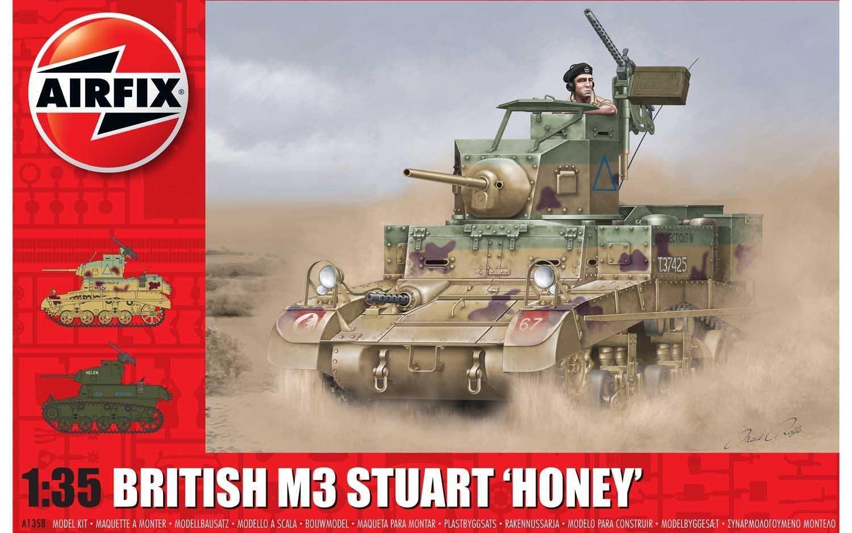 1:35 M3 Stuart, Honey (British Version)