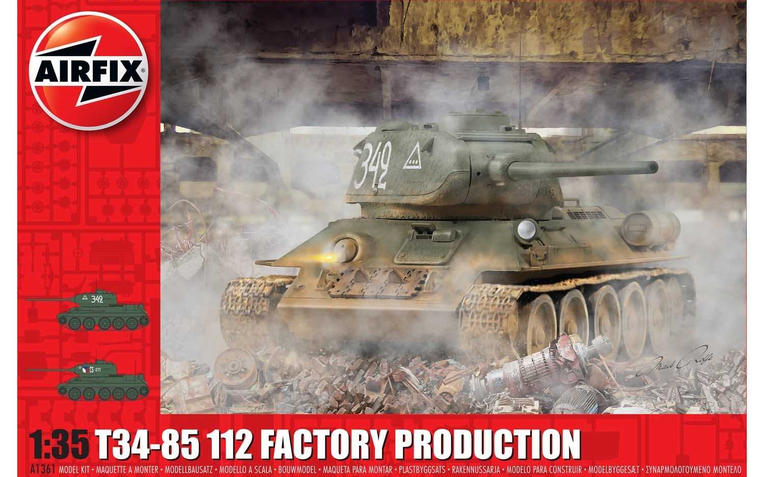 1:35 T-34/85, 112 Factory Production