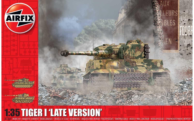 1:35 Tiger I (Late Version)