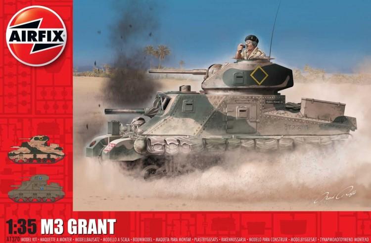 1/35 Plastikový model - tank A1370 - M3 Lee / Grant