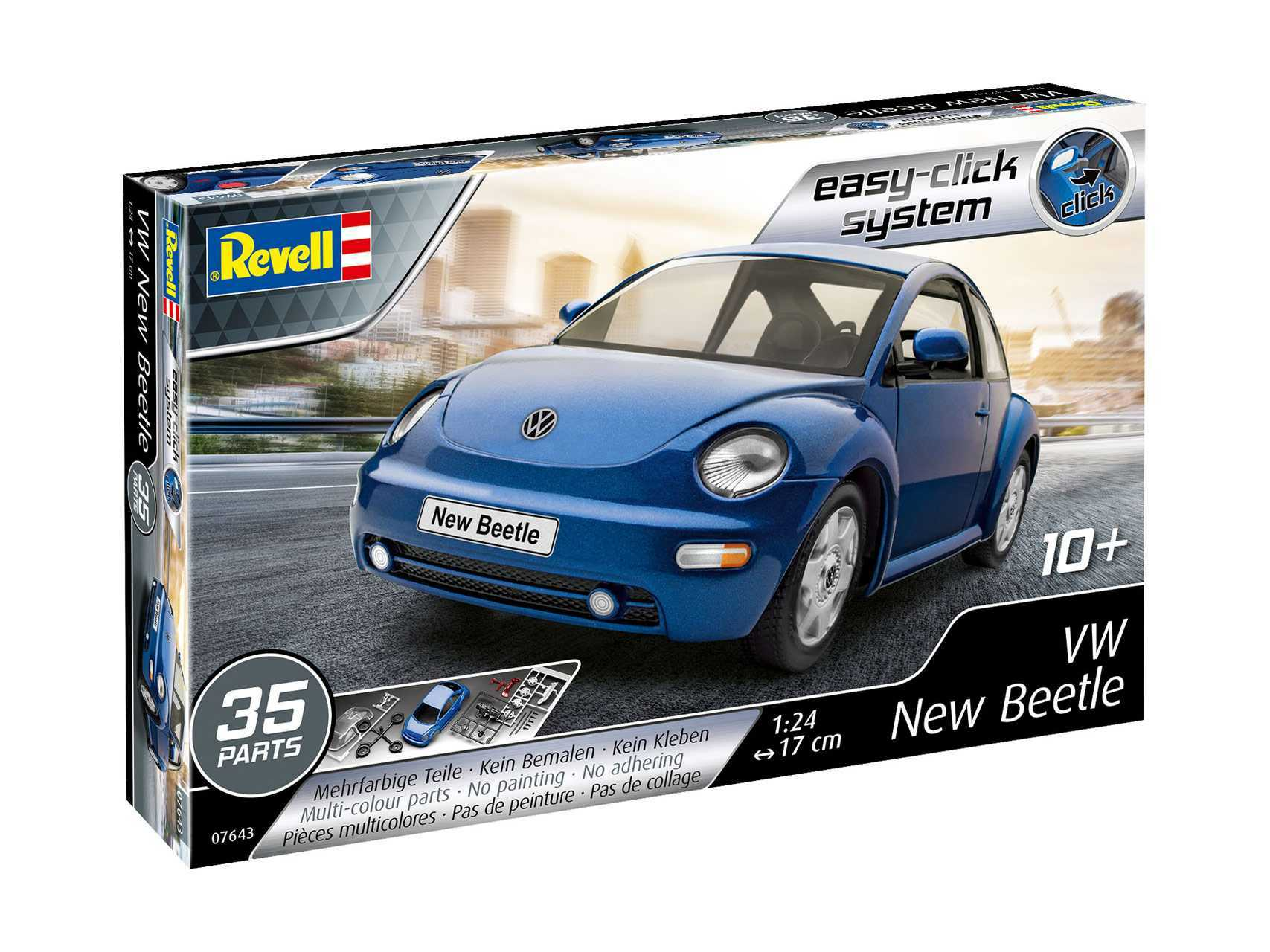 1:24 VW New Beetle (Easy-Click System, Model Set)