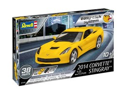 1:25 Corvette Stingray 2014 (Easy-Click System)