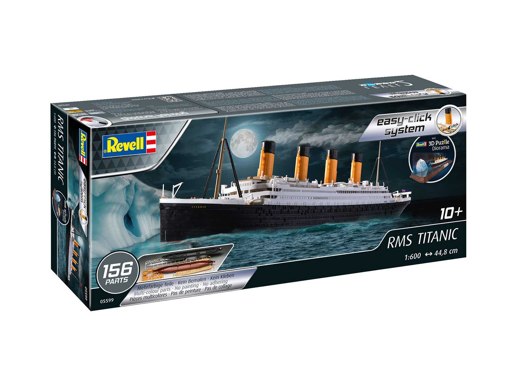 1:600 RMS Titanic & 3D Puzzle (Easy-Click System)