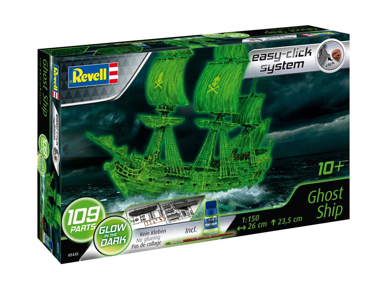 1:150 Ghost Ship (Easy Click)