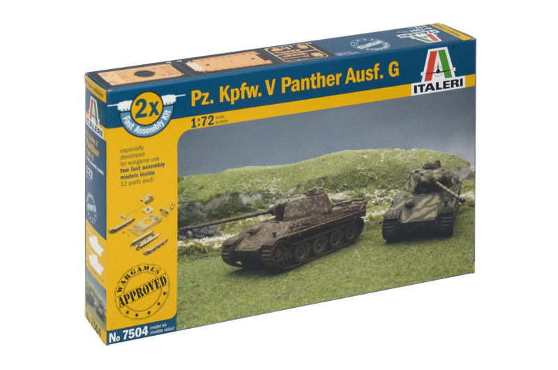 View Product - 1:72 Pz. Kpfw. V Panther Ausf. G (Fast Assembly Kit)