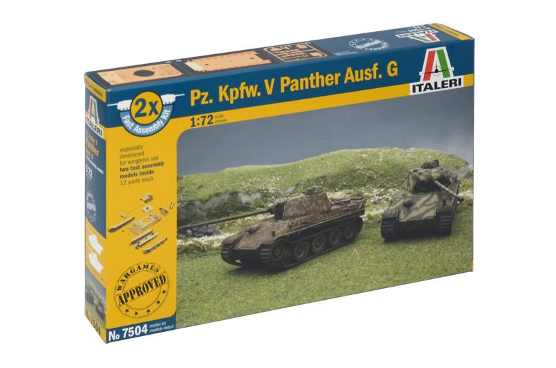 Produkt anzeigen - 1:72 Pz. Kpfw. V Panther Ausf. G (Fast Assembly Kit)