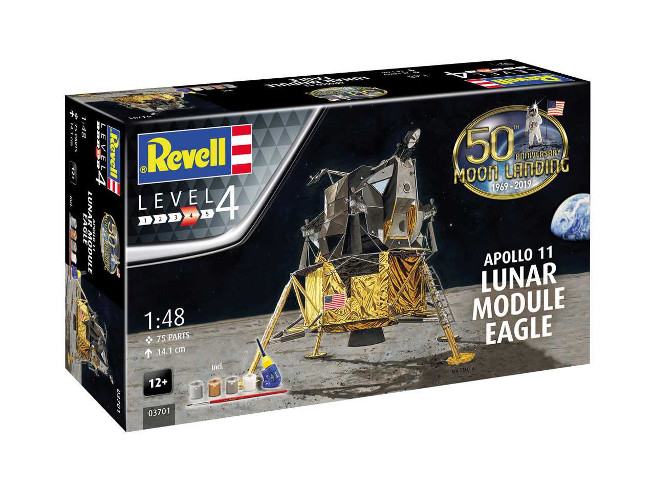 1:48 Apollo 11 – Lunar Module Eagle (50 Years Moon Landing)