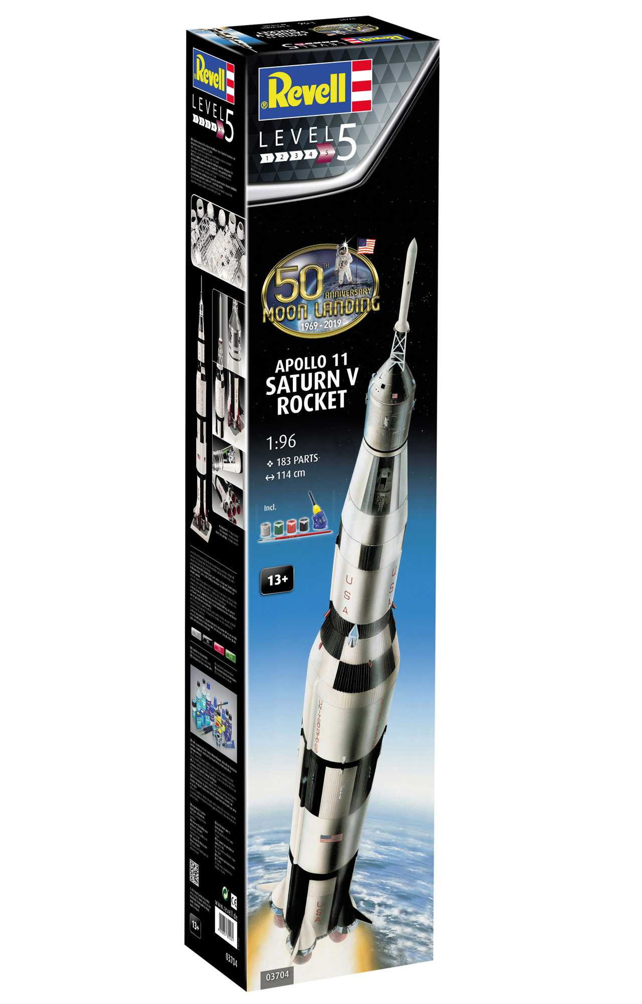 1:96 Apollo 11 – Saturn V (50 Years Moon Landing)
