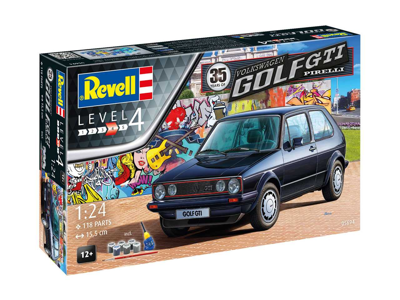 Náhled produktu - 1:24 VW Golf I GTi, Pirelli (35 Years)