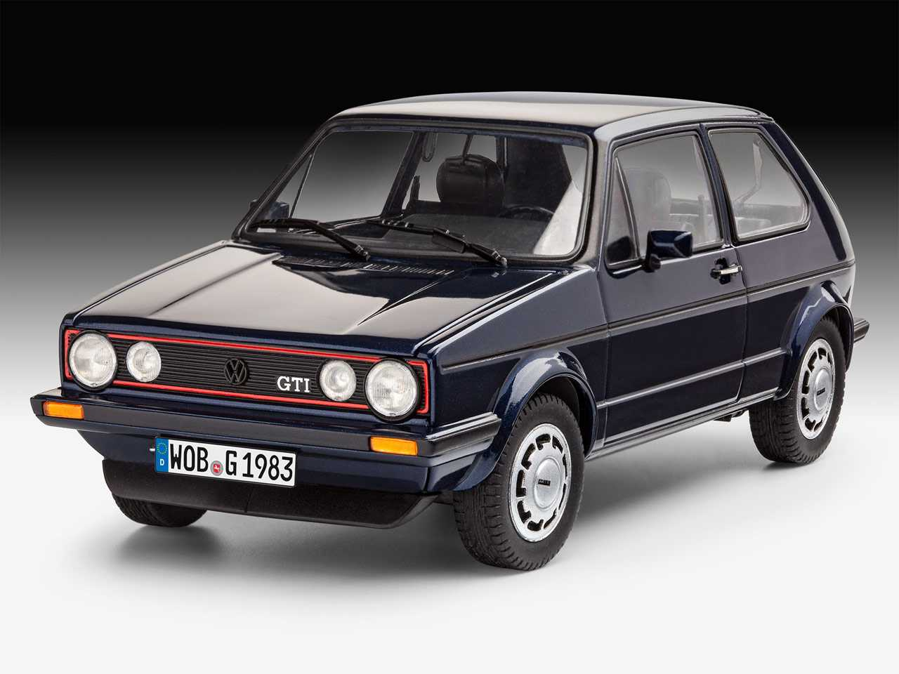 1 24 vw golf i gti pirelli 35 years. Black Bedroom Furniture Sets. Home Design Ideas