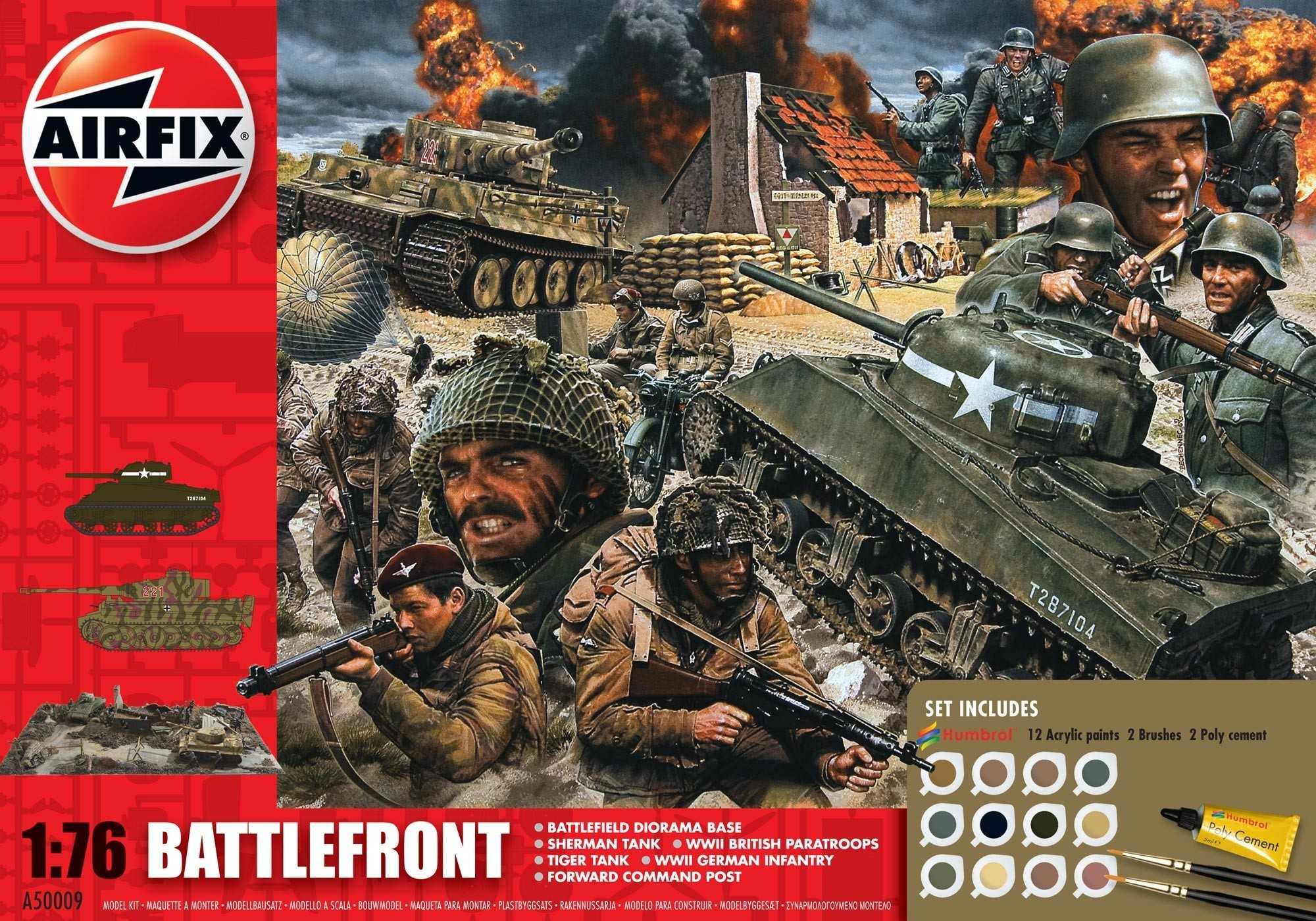 1:76 D-Day Battlefront (Gift Set)