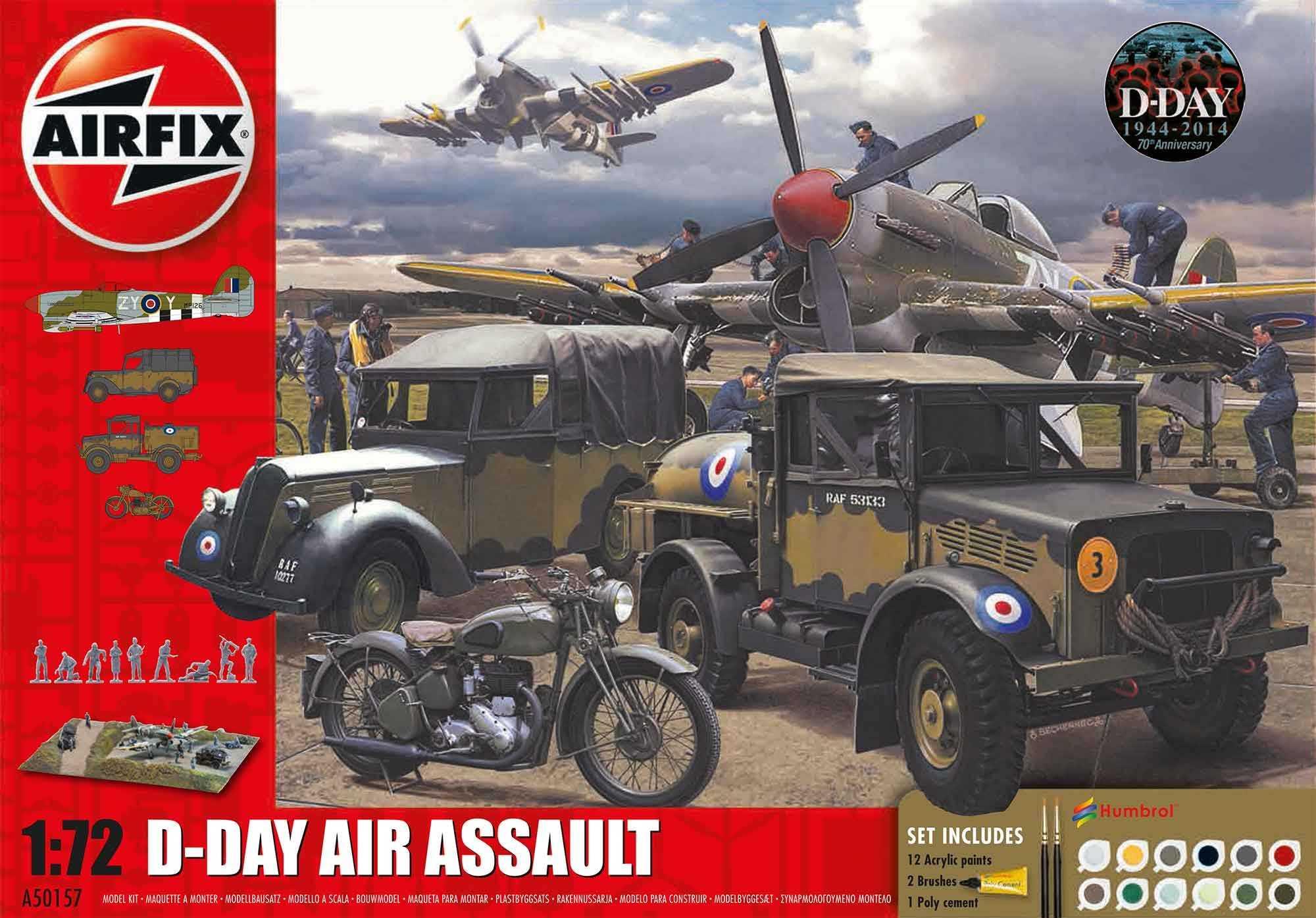 1:72 D-Day Air Assault (Gift Set)