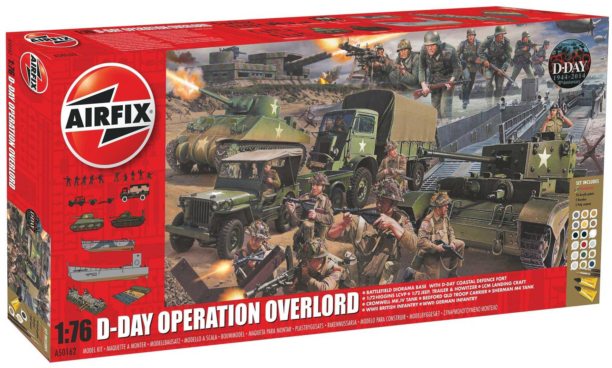 1:76 D-Day 75th Anniversary Operation Overlord
