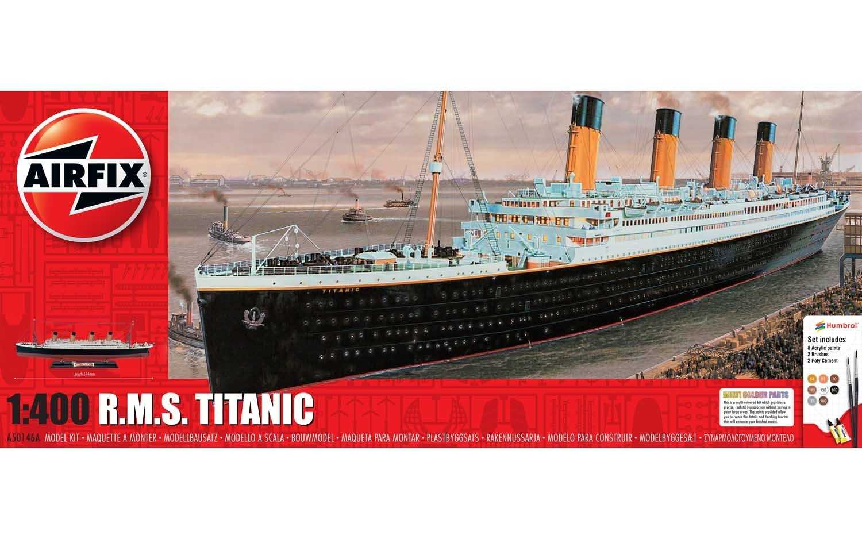 1:400 R.M.S. Titanic (Gift Set)