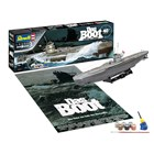 Gift-Set ponorka 05675 - Movie Set DAS BOOT - 40th Anniversary (1:144)