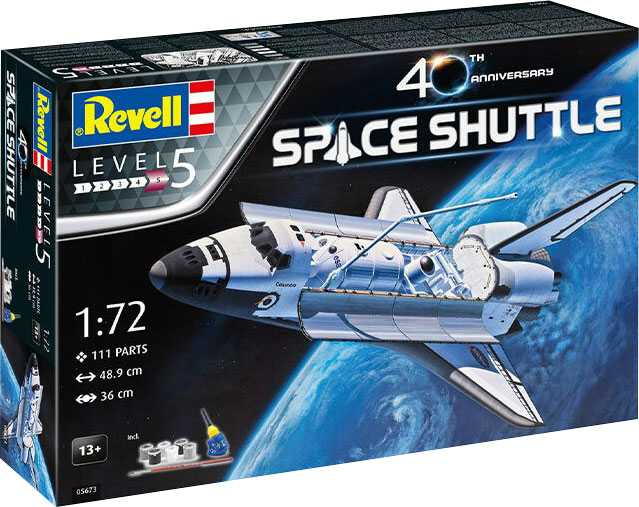Náhled produktu - 1:72 Space Shuttle, 40th Anniversary (Gift Set)