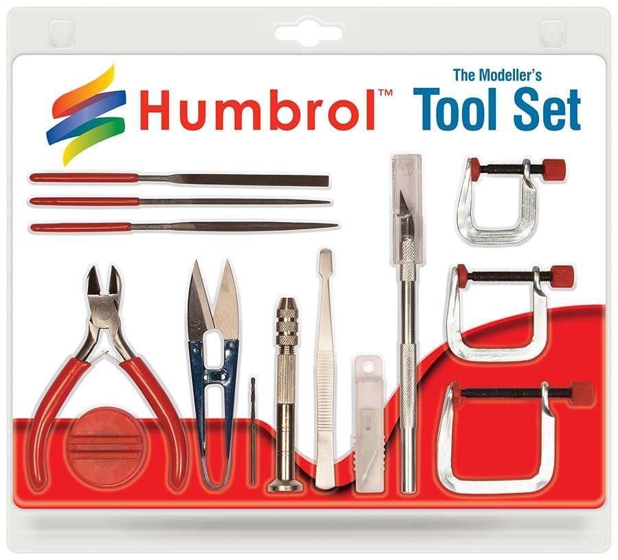 Humbrol Medium Tool Set  AG9159 - sada nářadí