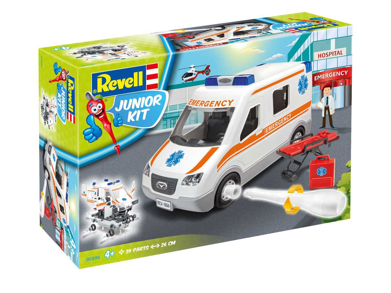 1:20 Ambulance (Junior Kit)