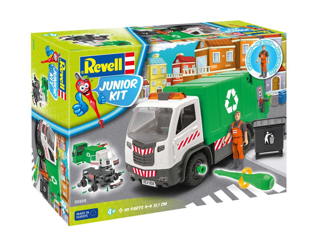 1:20 Garbage Truck (Junior Kit)