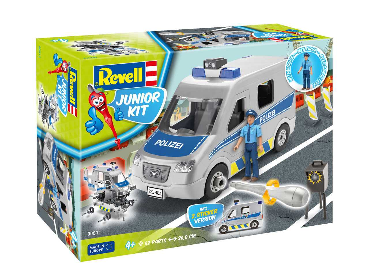 1:20 Police Van (Junior Kit)