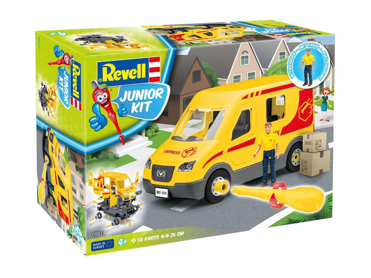 Junior Kit auto 00814 - Delivery Truck incl. Figure (1:20)