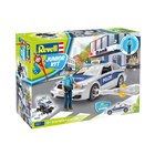 Junior Kit auto 00820 - Police Car with figure (1:20)