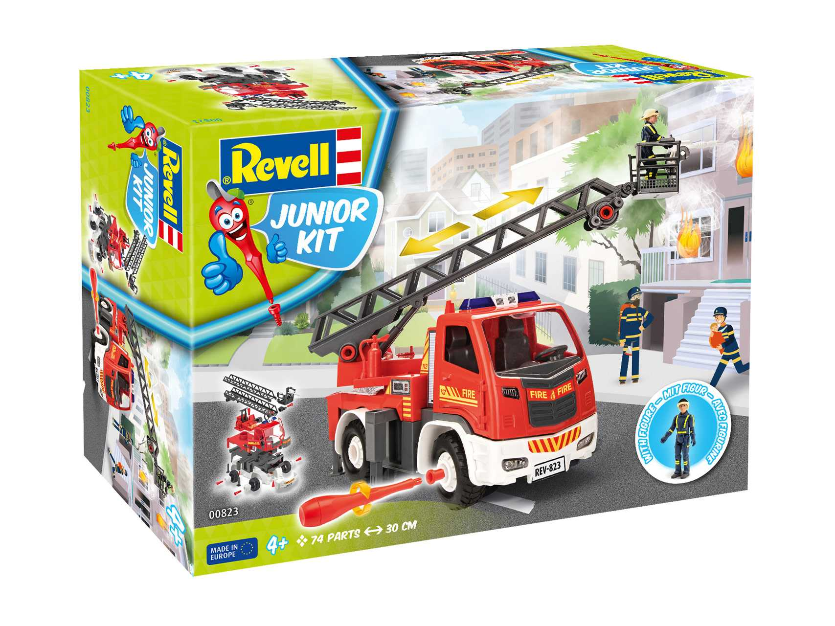1:20 Fire Truck (Junior Kit)