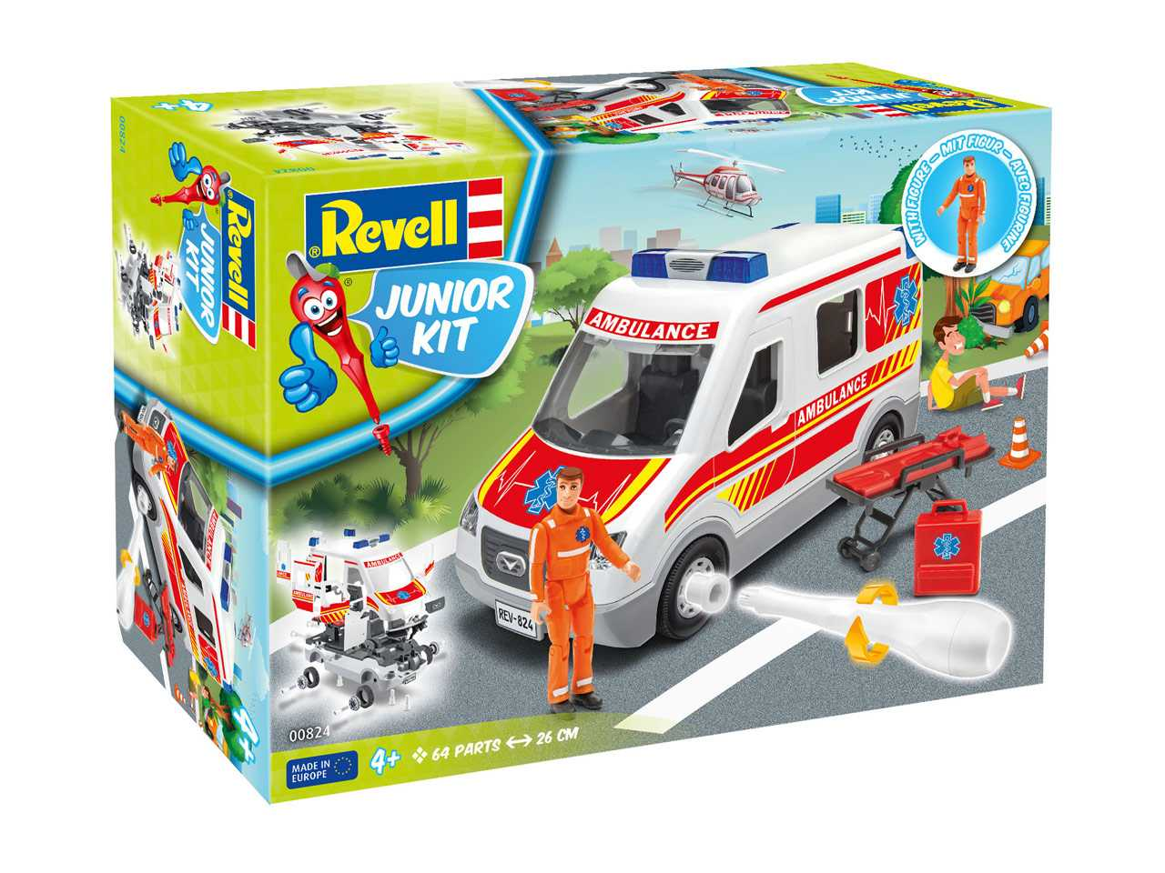 1:20 Ambulance Car (Junior Kit)
