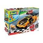 Junior Kit auto 00832 - Pull Back Racing Car (oranžové) (1:20)