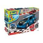 Junior Kit auto 00834 - Pull Back Rallye Car (modré) (1:20)