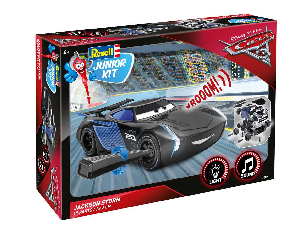 1:20 Jackson Storm - Light and Sound Effects (Junior Kit)