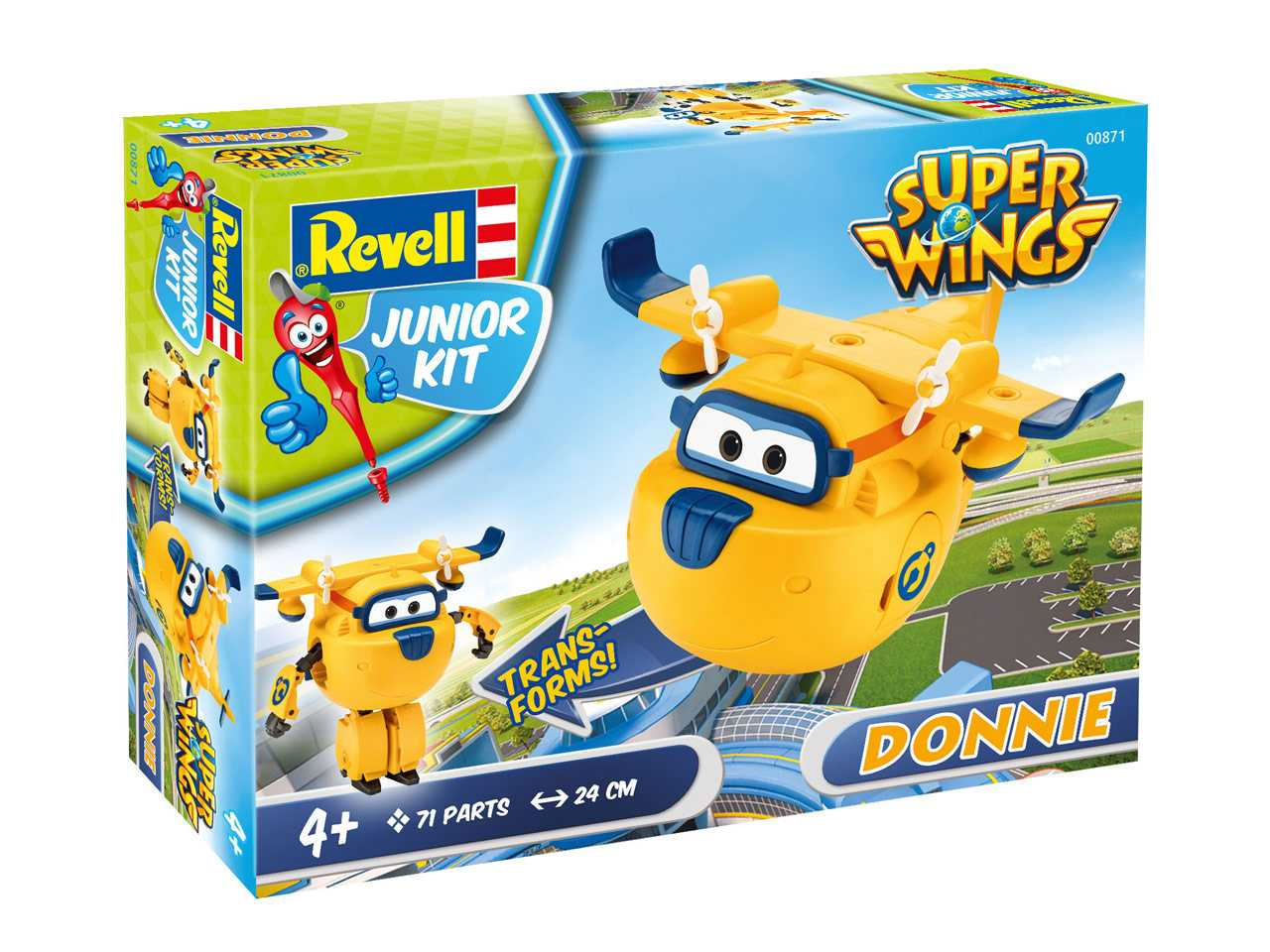 1:20 Super Wings Donnie (Junior Kit)