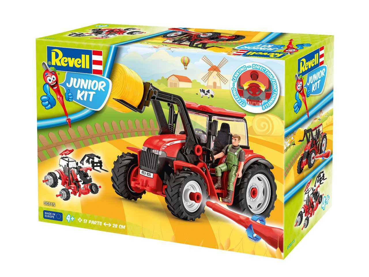 1:20 Tractor with loader incl. figure Junior Kit