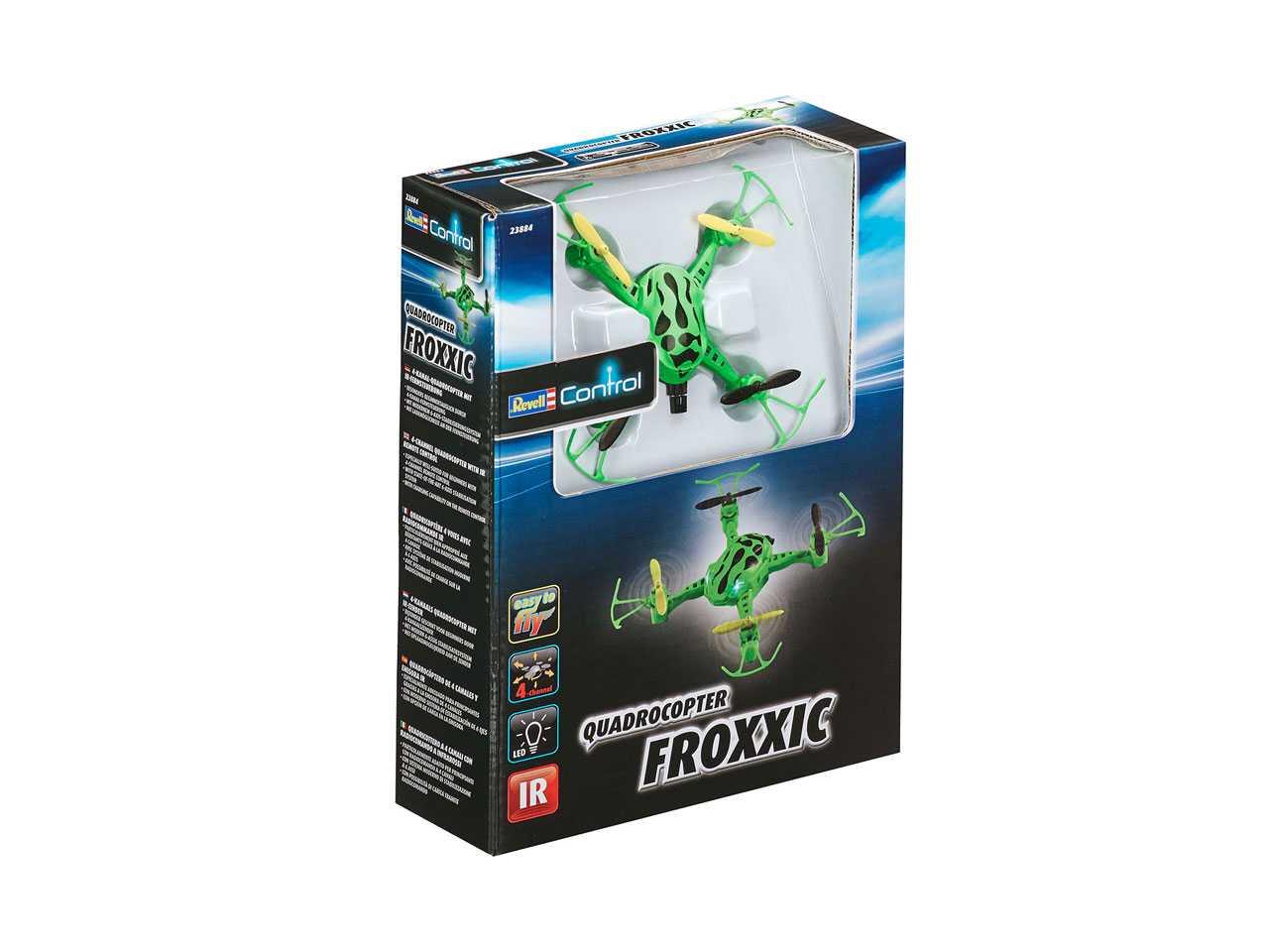 View Product - Kvadrokoptéra Revell Froxxic (zelená)