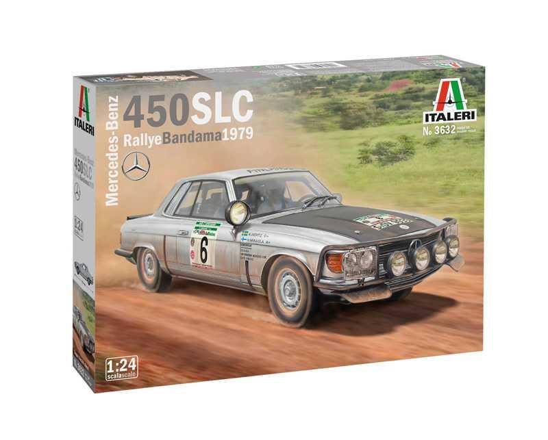 1:24 Mercedes-Benz 450SLC, Rallye Bandama 1979