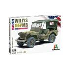 Model Kit auto 3635 - Willys Jeep MB (1:24)