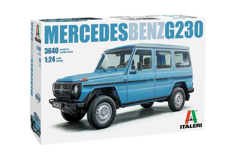 Náhľad produktu - 1:24 Mercedes-Benz G230