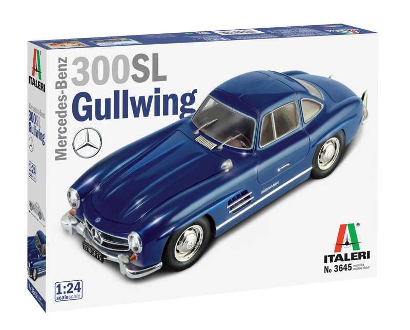 1:24 Mercedes-Benz 300 SL Gullwing