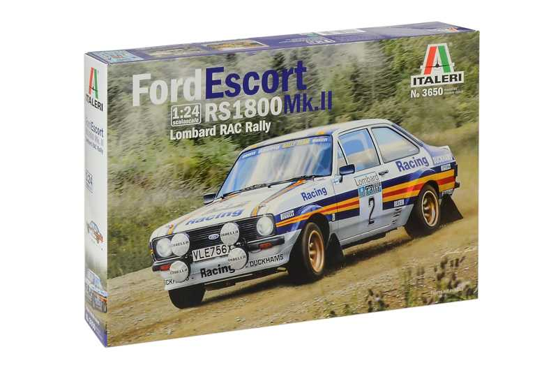 1:24 Ford Escort RS1800 Mk.II, Lombard RAC Rally