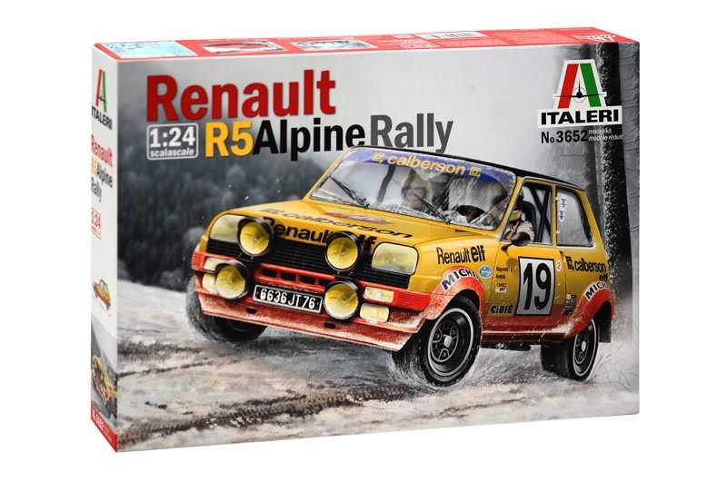Náhled produktu - 1:24 Renault R5 Alpine Rally