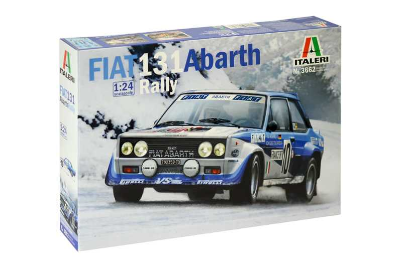 1:24 Fiat 131 Abarth Rally