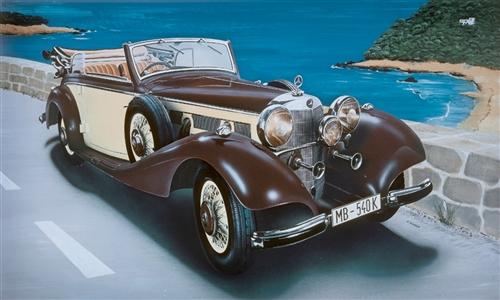 1:24 Mercedes Benz 540 K