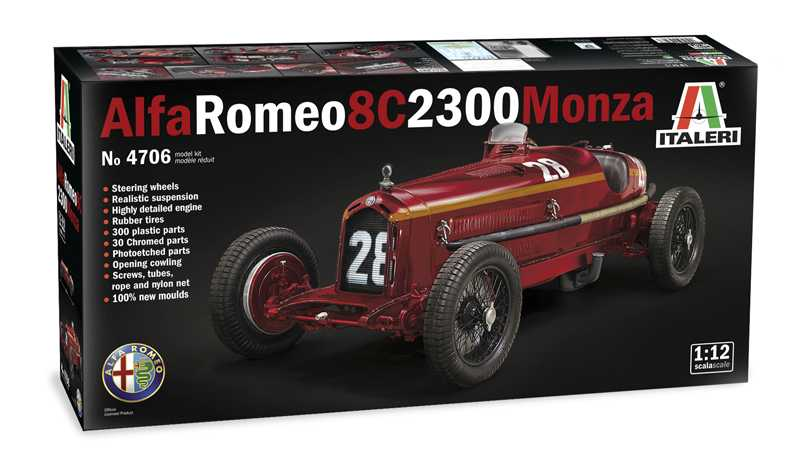 1:12 Alfa Romeo 8C 2300 Monza