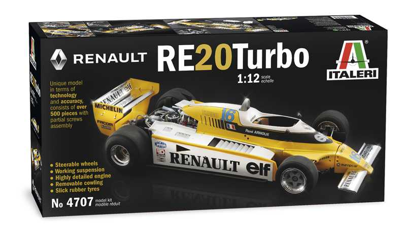 1:12 Renault RE20 Turbo