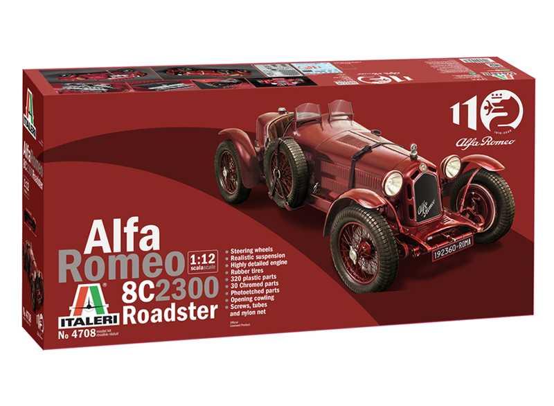 1:12 Alfa Romeo 8C 2300 Roadster